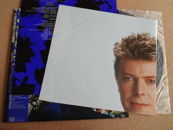 極美★LP★デビッドボウイ★トゥナイト★帯付★ポスター付★David Bowie★新品購入_画像2