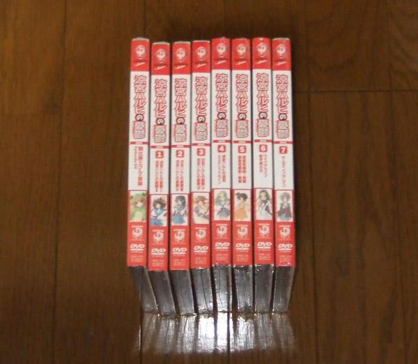 新品■ 涼宮ハルヒの憂鬱 初回版全8巻セット ■ DVD グッズの画像