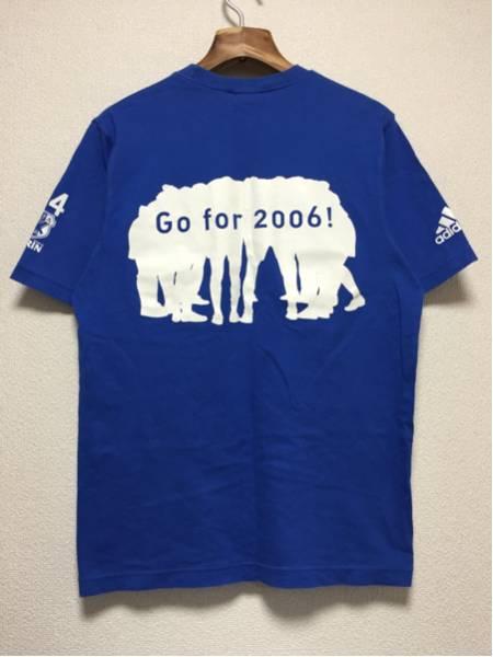 [即決古着]KIRIN×adidas/キリン×アディダス/サッカー日本代表/2003年/Tシャツ/青/ブルー/S_画像2