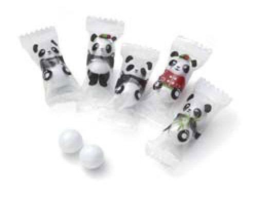 【お菓子】パンダチョコ(300個)お得(業務用にも)♪_画像1