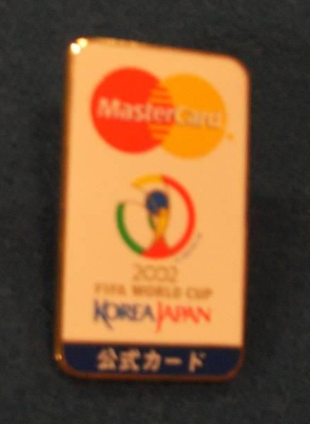 新品未使用サッカー2002ワールドカップピンバッジ韓国日本代表
