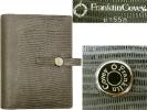 送料400円~展示品Franklin Plannerリザード・エンボス・バインダー61558システム手帳フランクリン・プランナーおまけページ・リフター付き