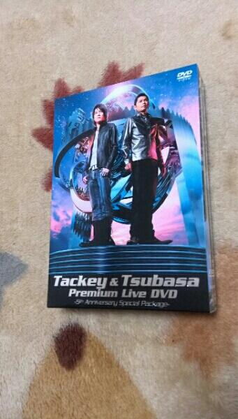 タッキー&翼  Premium Live DVD~5th Anniversary ディスク綺麗 コンサートグッズの画像