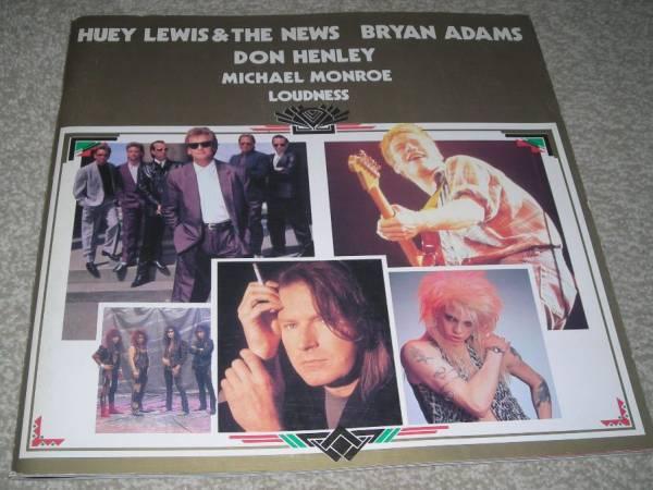 1989-90/パンフ/ブライアンアダムス ラウドネス ヒューイルイス