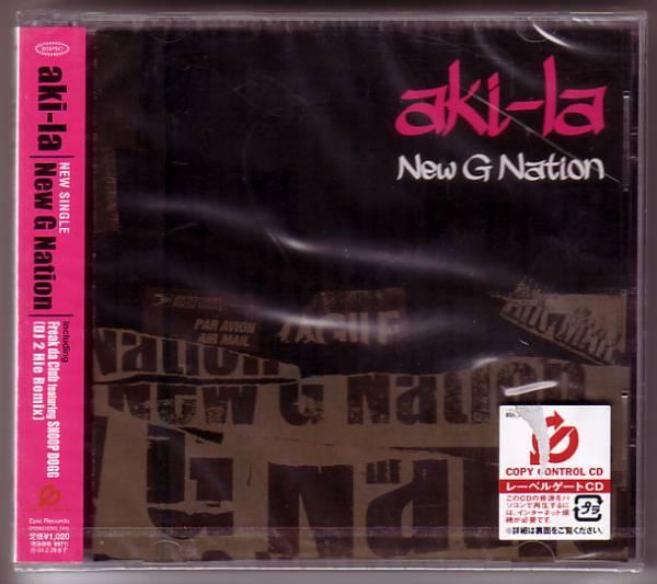 V-21 aki-la / New G Nation_画像1