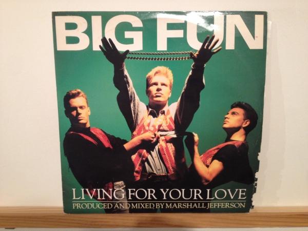 ☆Big Fun/Living For Your Love☆ハウスクラシック!_画像1
