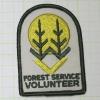アメリカンワッペン★パッチ 森林サービス ボランティア