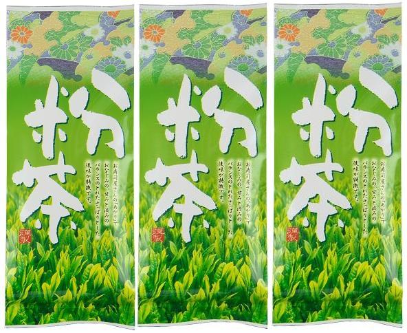粉茶 200g×3個★静岡県産一番茶★送料無料★静岡茶通販_静岡県産一番茶「粉茶」200g×3個