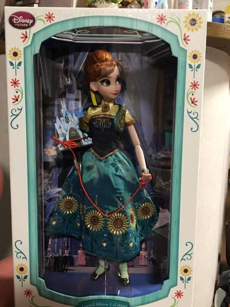 希少 ディズニー アナと雪の女王 リミテッド アナ 5000体限定品