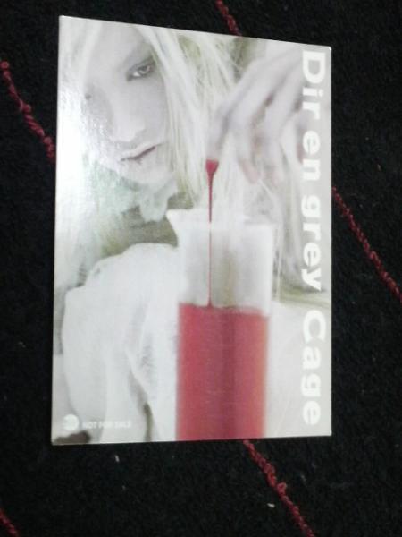 Dir en grey/非売品カード 送料無料