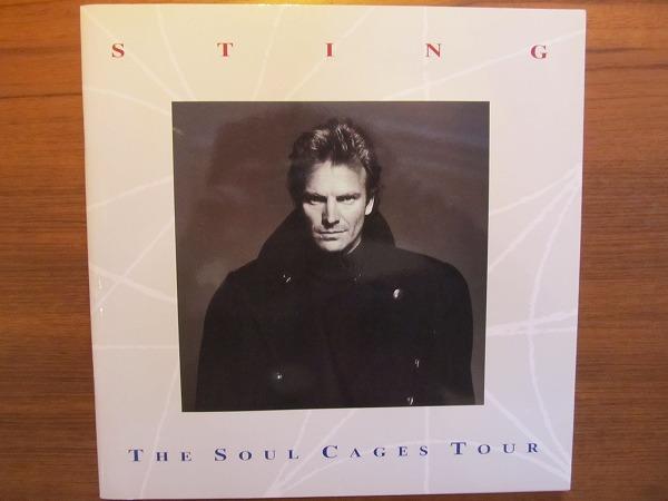 ツアーパンフレット●STINGスティング the soul cages tour 1992