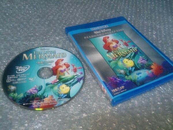 ★A15【DVD/未再生】リトルマーメイド【ケース付】Disney/即決有 ディズニーグッズの画像