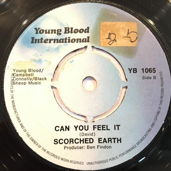□Scorched Earth/Can You Feel It□UK PSYCH ROCK!_画像1