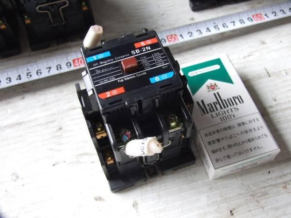 10-4/27 Fuji富士電機 直流電磁接触器 SB-2N_画像2