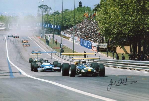 フォーミュラ1 ジャック・ブラバム Jack Brabham サイン フォト_Formula One,ジャック・ブラバム
