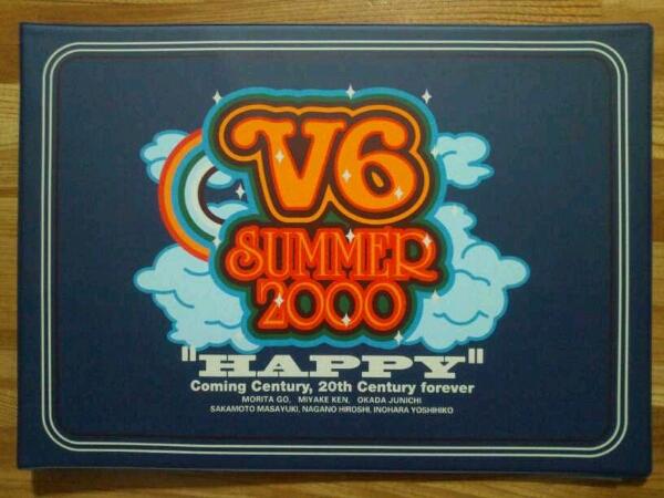 V6 HAPPY パンフレット 公認グッズ トニセン カミセン