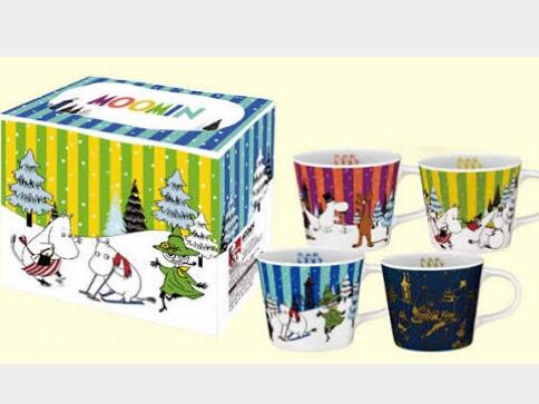 限定品■ムーミン マグカップ コンプリートパック■レア星空入り グッズの画像