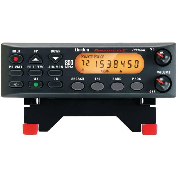 ユニデン製 卓上or車載型広帯域受信機エアーバンド受信に BC355N (航空無線・盗聴器発見・盗聴発見・業務無線・CB無線・国際VHF)