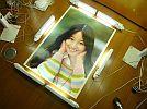 A_1976 год Showa 51 год в это время моно большой размер постер # Agnes Chan поломка след есть