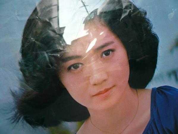 A_ Showa времена песок. сверху . синий One-piece . сиденье . Ishikawa ... постер /53*75