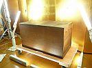 津軽豪農竈近~がっちり頑丈造りこめびつ米びつ米櫃木製時代木箱