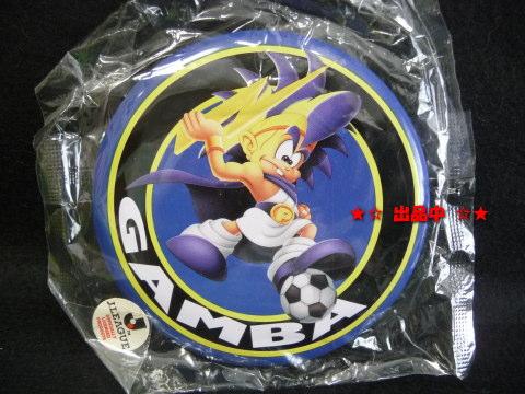 当時物★Jリーグ サッカー 缶バッジ ガンバ 1992年