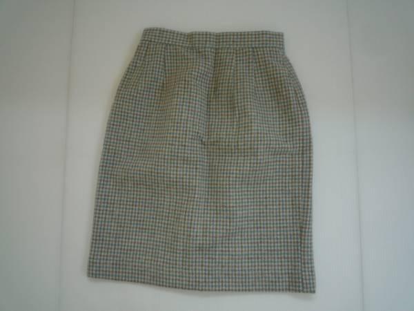 【良品】◆アンシェピ/ANNCHEPI◆ 台形スカート 膝丈 60-88 総柄