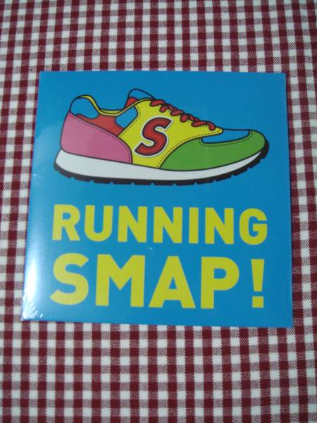 SMAP ★ SMAP SHOP ★ CD ★ RUNNING SMAP!★ 新品・未開封