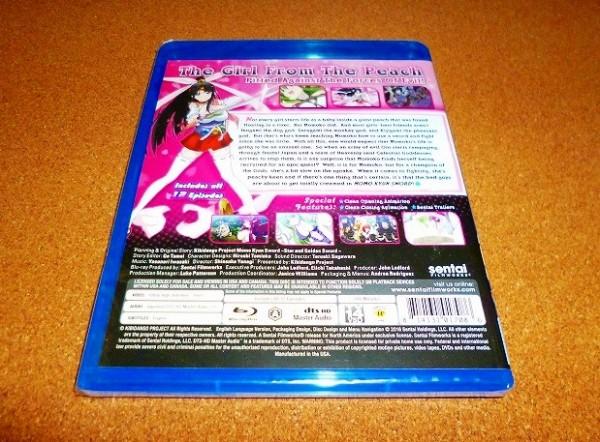 新品BD 【モモキュンソード】 全12話BOX!北米版ブルーレイ_画像2