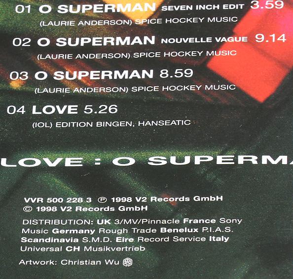 2raumwohnung Iol O Superman ドイツ盤cds インガフンペフンペinga Humpe