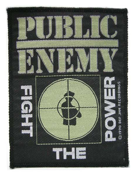 PUBLIC ENEMY 90'S VINTAGE デッドストック ヴィンテージ ワッペン N.W.A HOUSE OF PAIN ONYX DEF JAM