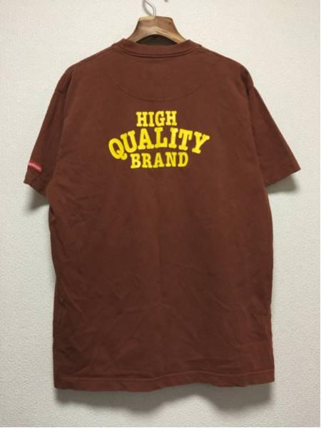 [即決古着]Wholenine/ホールナイン/Tシャツ/半袖/プリント/ブラウン/L2
