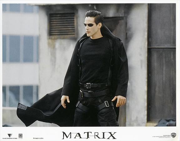 1999年 映画 マトリックス The Matrix ロビーカード 2枚付き