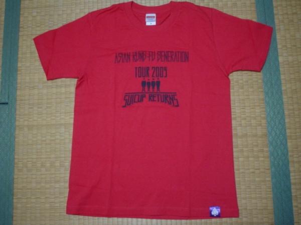 アジアンカンフージェネレーション Tシャツ ツアー2009 アジカン ライブグッズの画像