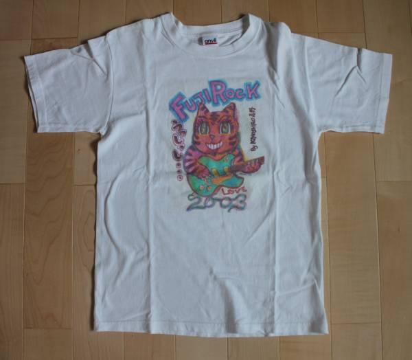 即決!レア!フジロック 2003 忌野清志郎 Tシャツ