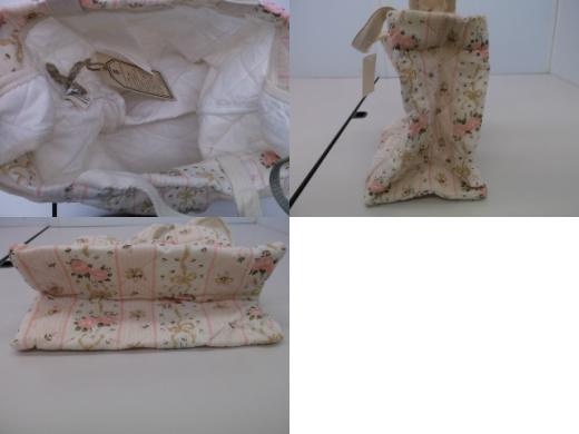 【タグ付き!】 ◆ ゼロコレ ◆ 手作りバッグ 2way 花柄 (CM24B013)_画像2