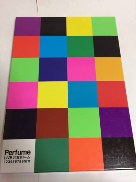 Perfume パフューム 写真集 LIVE@東京ドーム 1234567891011