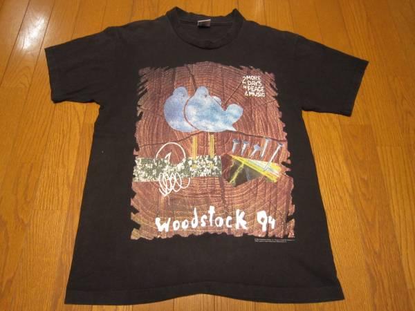 166-58/90'S/WOODSTOCK94/ウッドストック94/Tシャツ/L