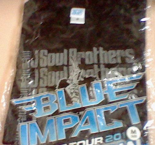 未使用 三代目 2014年 BLUE IMPACT限定 FINAL Tシャツ Mサイズ ライブTシャツ