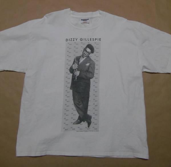 ビンテージ 1992 DIZZY GILLESPIE フォト Tシャツ