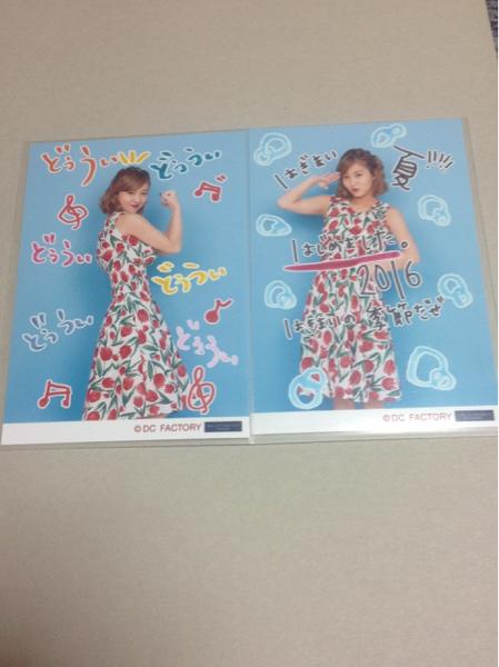 ℃-ute音霊 SEA STUDIO 2016 コレクション写真萩原舞2種 ライブグッズの画像