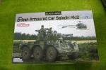 ドラゴン 1/35 イギリス陸軍 6輪装甲車 サラディンMk.II 3554