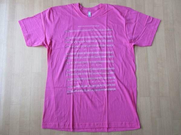 USA製 Bjork MoMA ビョーク 回顧展 Black Lake 楽譜 Tシャツ XL Vulnicura ヴァルニキュラ 芸術 ART 現代美術 モマ The Sugarcubes
