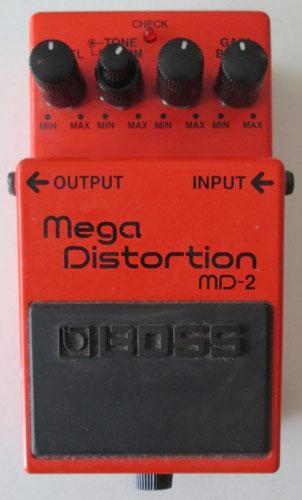 BOSS MD-2 Mega Distortion ボス メガ・ディストーション