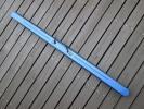 ロッドケース PVC素材 セミハードケース スリム ■ブルー3
