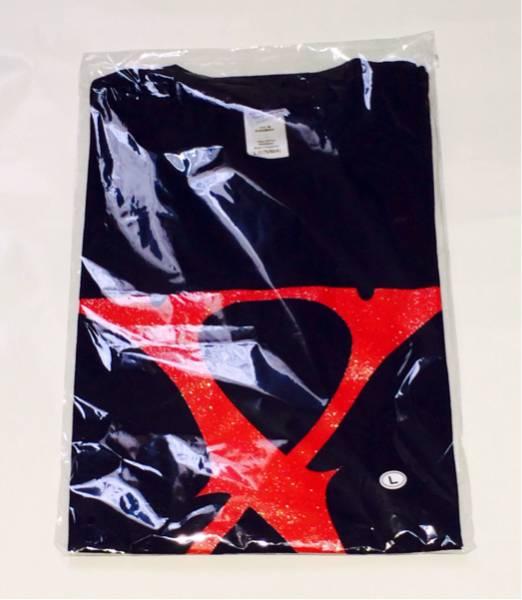 X JAPAN 会場限定 バンドTシャツ 2枚セット YOSHIKI HIDE TOSHI LUNA SEA SUGIZO GACKT ライブグッズの画像