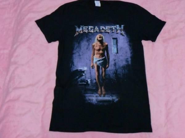 MEGADETH メガデス Tシャツ M バンドT ロックT Metallica Slayer Anthrax