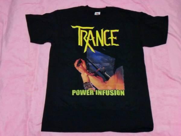 TRANCE トランス Tシャツ M バンドT ロックT Accept Scorpions