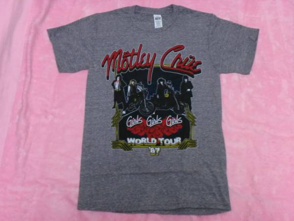 MOTLEY CRUE モトリー クルー Tシャツ S バンドT ロックT Ratt