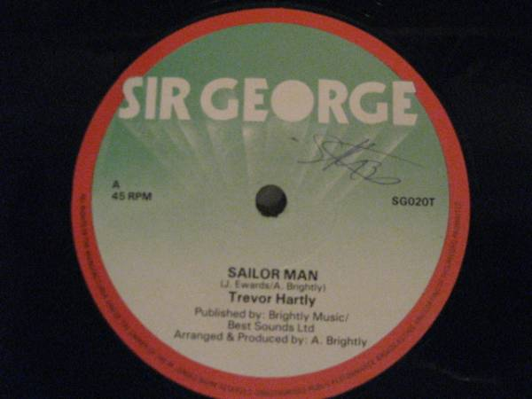 ■Trevor Hartley/Sailor Man■LOVERS ROCK!_画像1